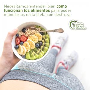 Estudio de los nutrientes y alimentos