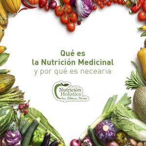 NUTRICIÓN MEDICINAL